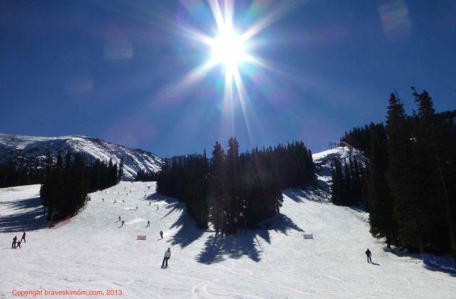 skiing arapahoe basin in october