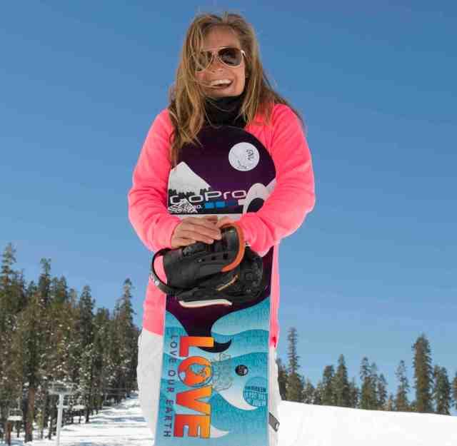 Jamie Anderson snowboard slopestyle