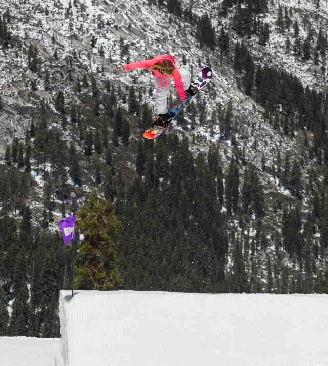 Jamie Anderson snowboard
