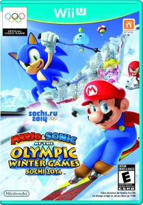 mario and sonic at the winter olympics sochi 2014