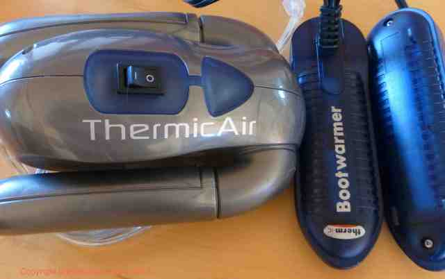 thermic air ski boot dryers