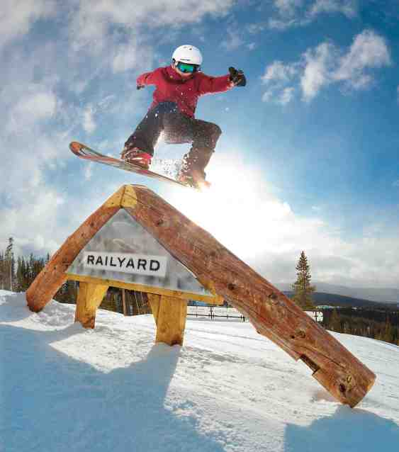 winter park resort terrain park