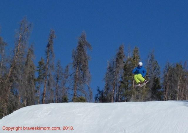 jumping ski granby ranch