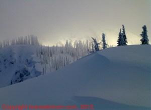 powder selkirk mountains