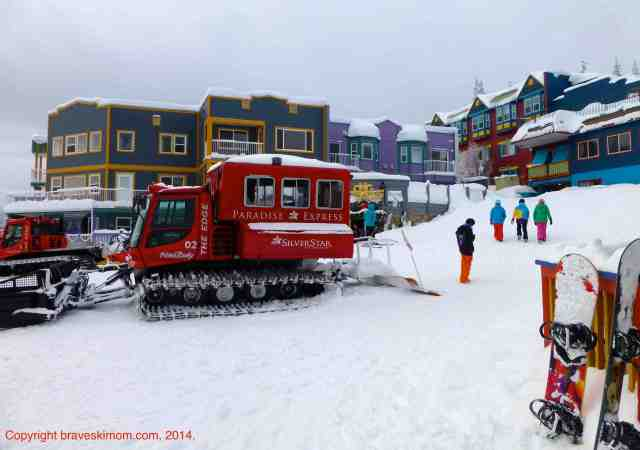silver star village and snowcat