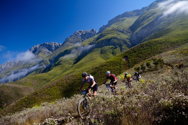Some of the stunning South African scenery along the CAPE EPIC Route.