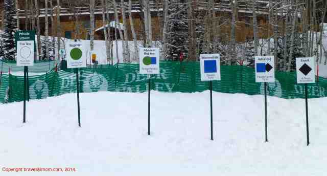 deer valley ski school