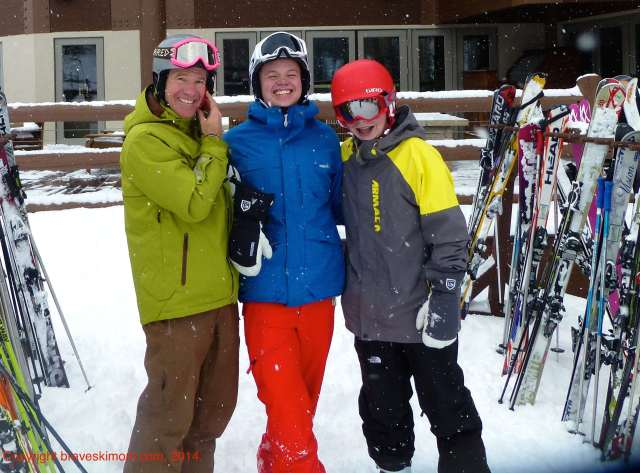 happy family deer valley ski utah
