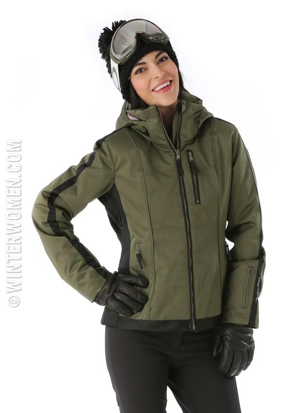 2014 2015 ski fashion obermeyer mackenzie ski jacket