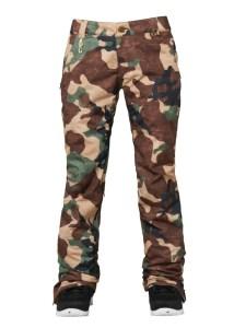 ski fashion 2014 2015 686 camo pants