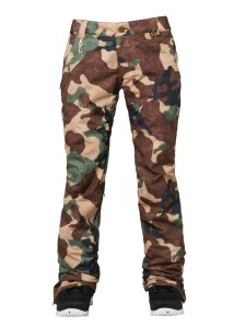 ski fashion 2014 2015 686 camo pants