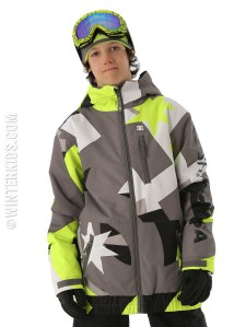 dc ski jacket for boys