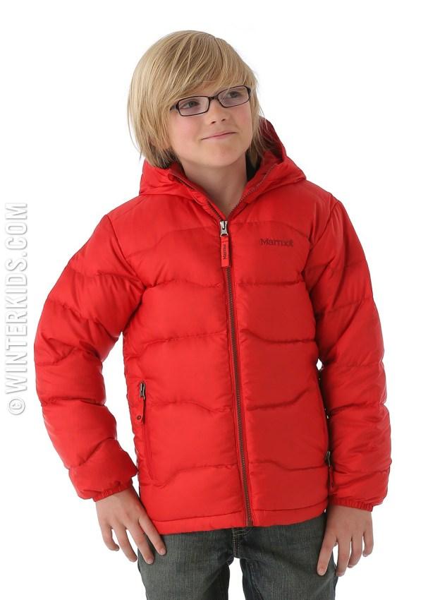 marmot boys jacket