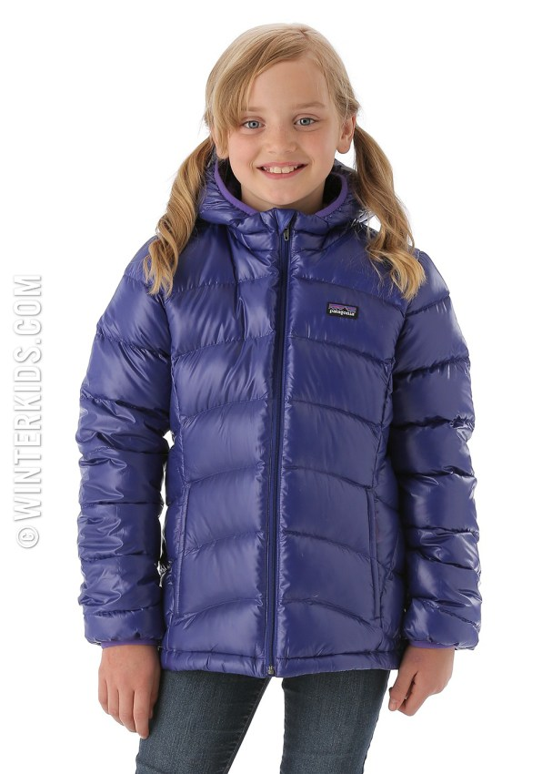 patagonia down hoody for girls