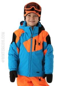 Spyder ski jacket boys mini leader