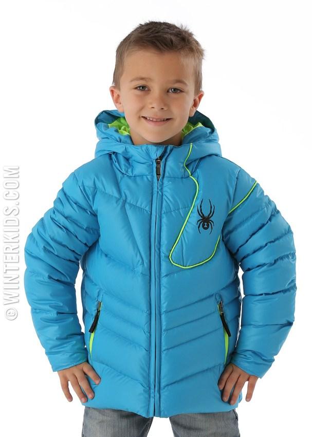 spyder ski jacket boys