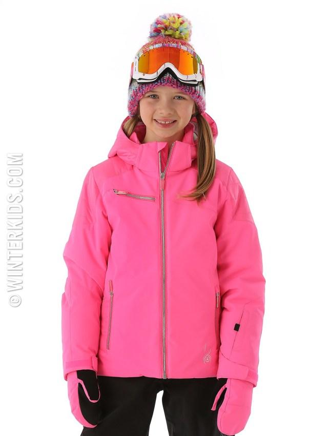 spyder radiant jacket for girls