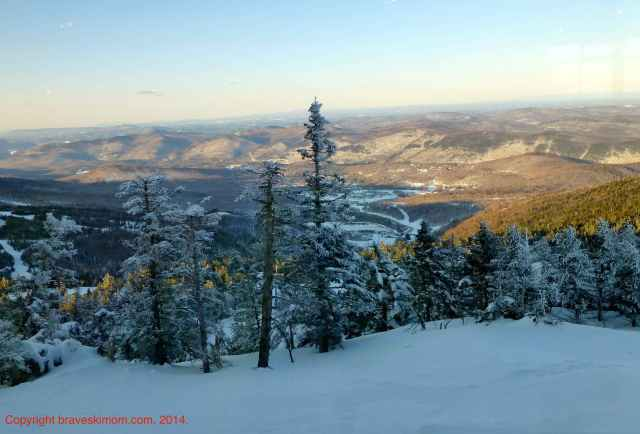 killington at dusk