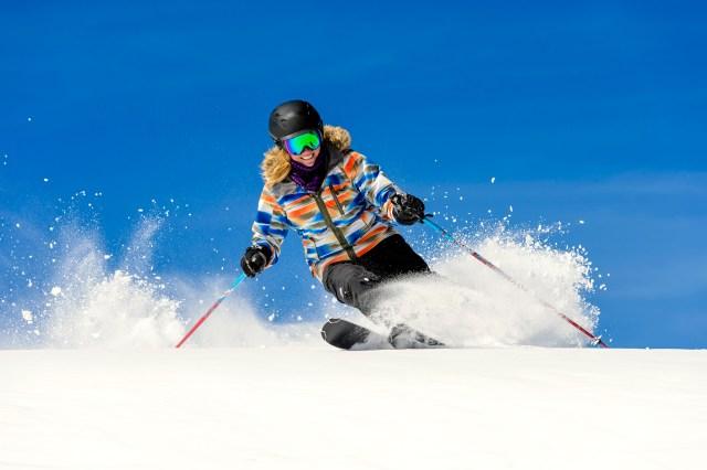 skiing at snowshoe west virginia