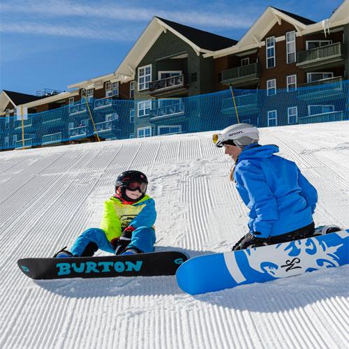 snowboard snowshoe mountain