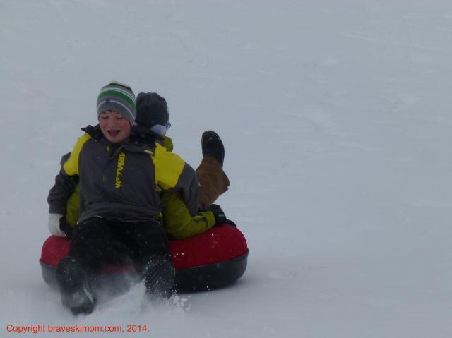 tubing snow mountain ranch