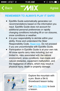 epic mix guide disclaimer