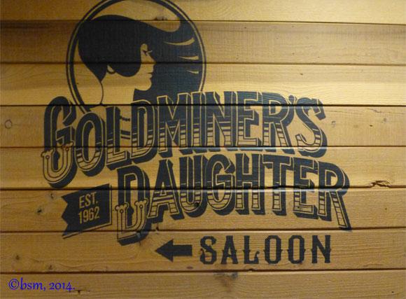 goldminers daughter saloon