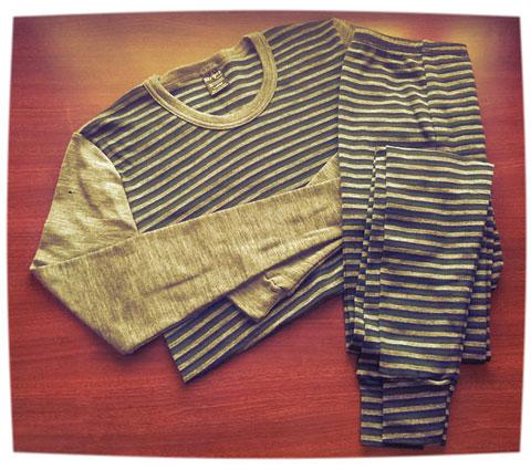 mens stripes gear baselayers