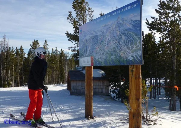 checking the map big sky montana
