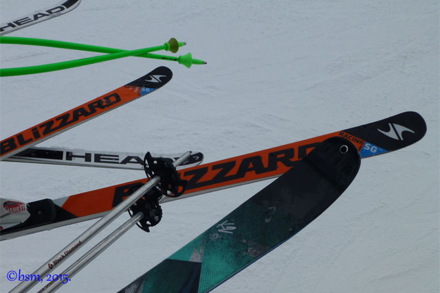 fat skis thin skis
