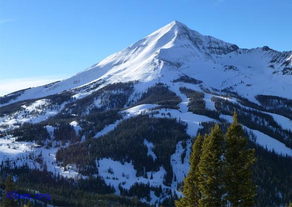 lone mountain big sky montana