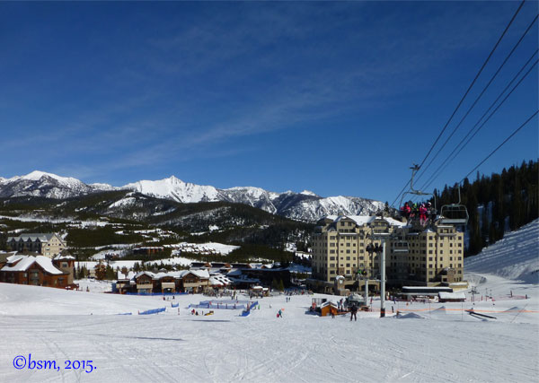 mountain village big sky