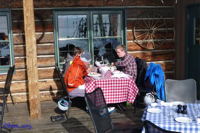 lunch at lynn britt