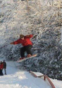 snowboard terrain park ski sundown