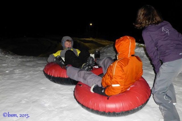 tubing ullr nights snowmass