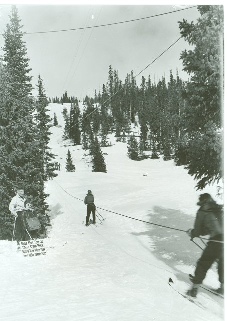 early colorado rope tow