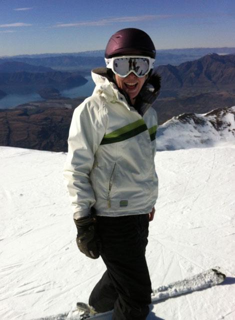 jessica treble cone skiing