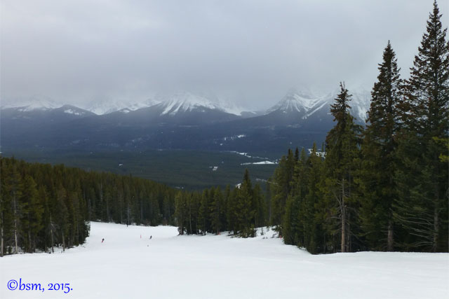 front side lake louise