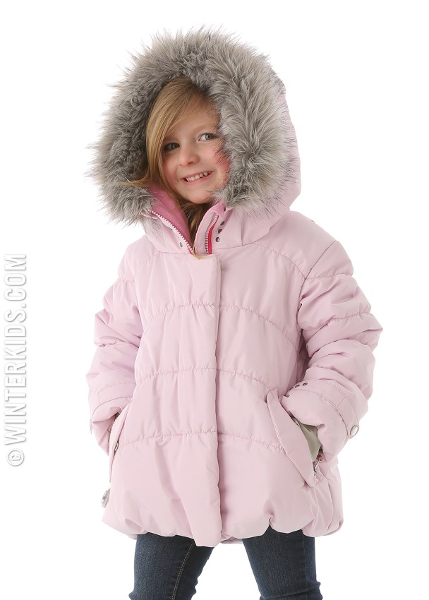 obermeyer everlee jacket in ice pink