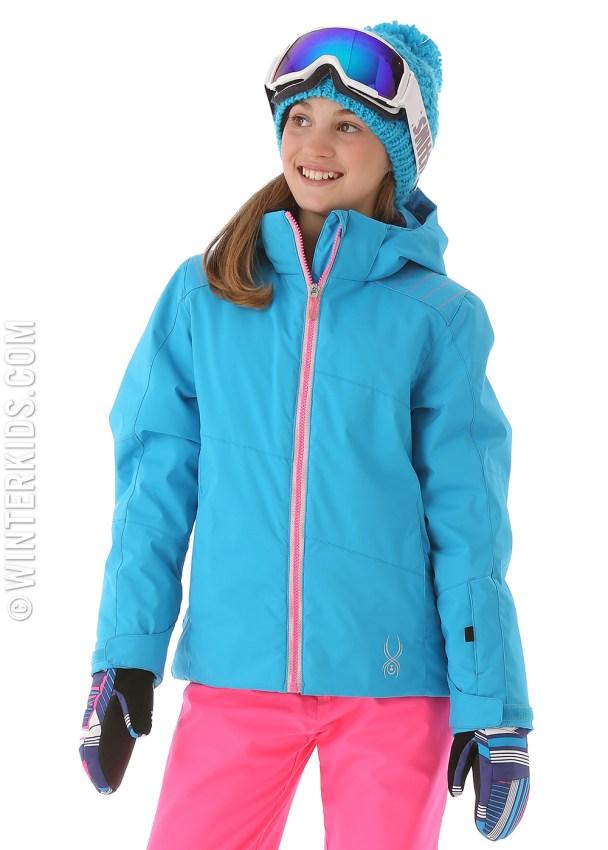 spyder girls glam jacket