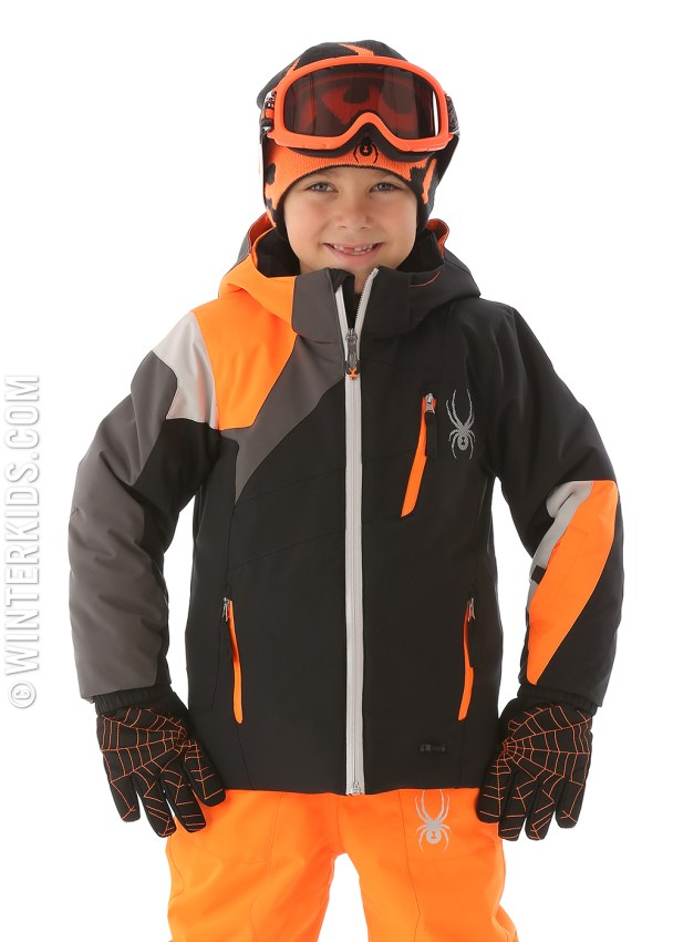 spyder mini avenger jacket