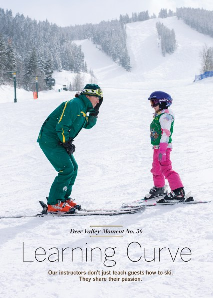 deer valley moments learning curve
