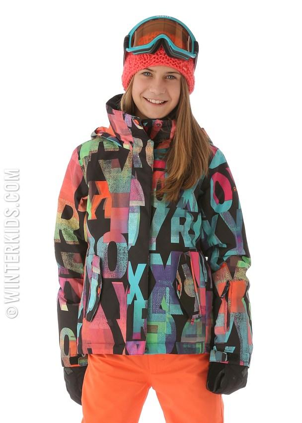 roxy girls ski jacket