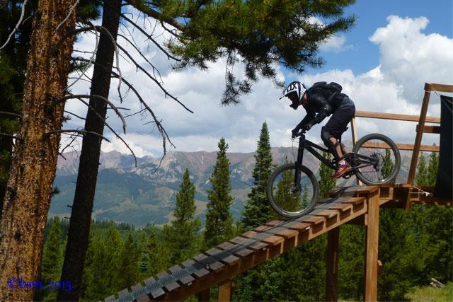 evolution bike park bridge crested butte