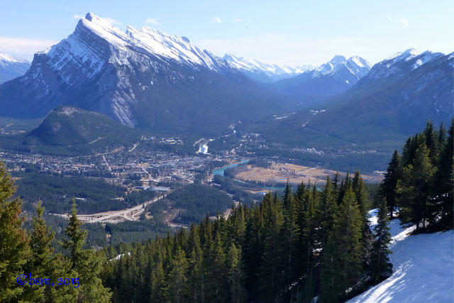 mount nor quay view of banff