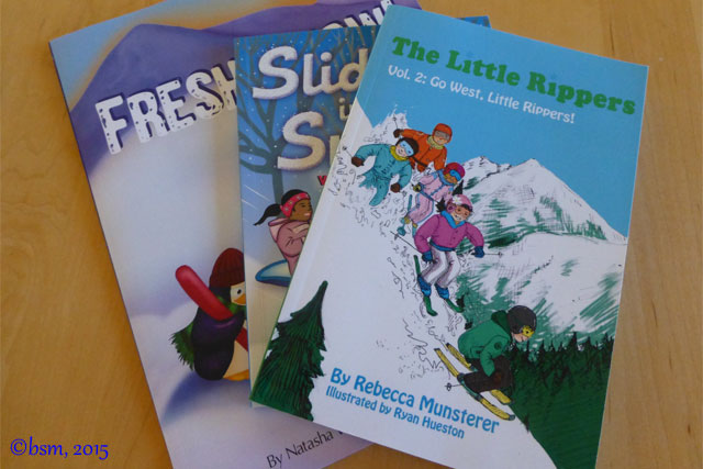 children's ski books