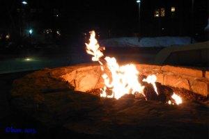 s'mores fire pit solitude mountain resort utah