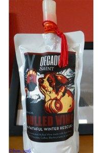 decadent saint mulled wine