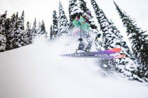 red mountain resort tree skiing