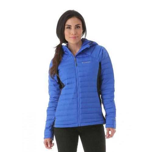 columbia hooded down hybrid jacket